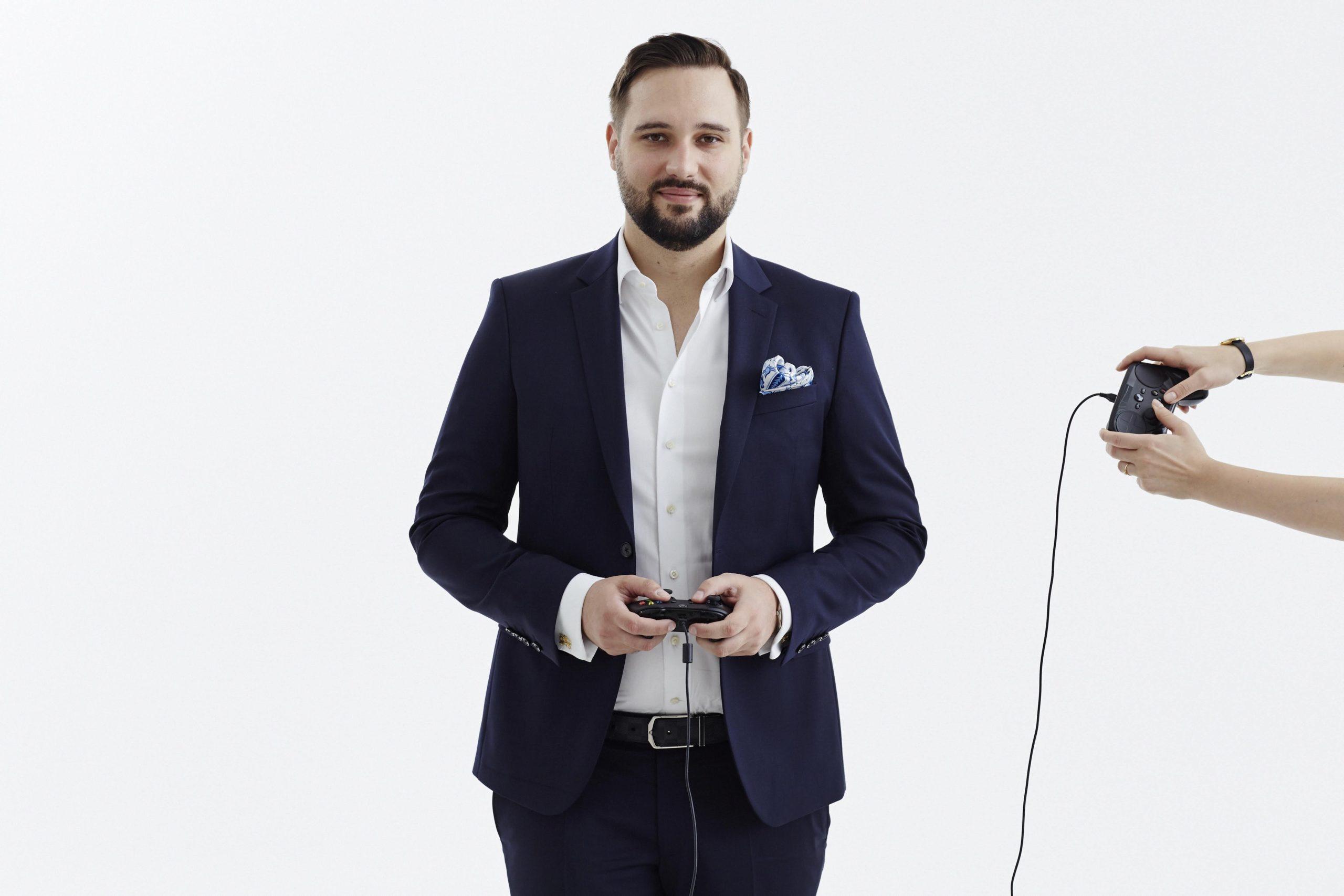 Mateusz Wcześniak, prezes Movie Games