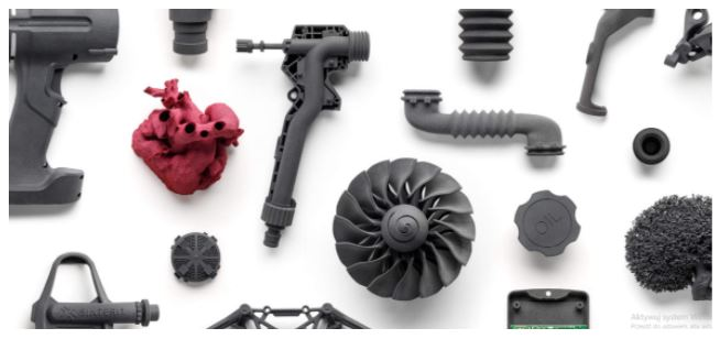 Wydruki 3D wykonany w technologii SLS za pomocą drukarki Sinterit Lisa Pro
