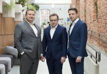 T. Swieboda, M. Rokosz, M. Malysz, partnerzy Inovo